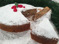 Greek Sweets, Greek Desserts, Greek Recipes, Vasilopita Cake, Cake Frosting Recipe, Frosting Recipes, Christmas Deserts, Christmas Baking, Gastronomia