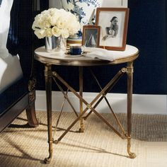 Ralph Lauren Accent Table, sharing beautiful designer home decor inspirations: luxury living room, dinning room & bedroom furniture, chandeliers, table lamps, mirrors, wall art, decorative tabletop & bathroom     accents & gifts courtesy of instyle-decor.com Beverly Hills enjoy & happy pinning