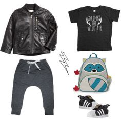 Set 4 Fall Capsule Wardrobe, Motorcycle Jacket, Trunks, Swimming, Boys, Swimwear, Polyvore, Jackets, Fashion