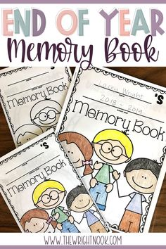 End of the Year Activities - Memory Book Work On Writing, Writing Practice, Writing Skills, End Of Year Activities, Classroom Activities, First Grade Classroom, Kindergarten Classroom, Doodle Pages, Science Notebooks