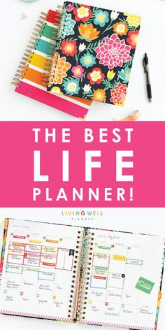 LIVING WELL wants to introduce you to your NEW LIFE! Consider how your day is going… now imagine you had a planner that tracked your goals, your calendar and schedule, and your budgeting and finances all in one beautiful place! Don't go another minute wit Planner Free, Life Planner, Happy Planner, Printable Planner, Planner Stickers, Planner Ideas, Free Printables, Online Bullet Journal, Bullet Journals