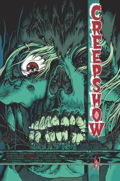Creepshow Poster - by Sutfin / BigCartel - via this isn't happiness™, Peteski — Designspiration