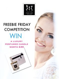 PIN  TO WIN! A luxury perfumed candle in a gorgeous presentation box worth £30. http://www.mimiandmeshropshire.com/comps