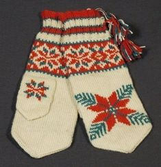 Bilderesultater for sami knitting Knitting Charts, Knitting Patterns Free, Free Knitting, Baby Knitting, Free Pattern, Fingerless Mittens, Knit Mittens, Knitted Gloves, Knitting Socks