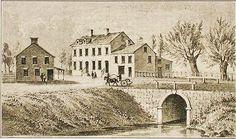 New York, Bridge at Broadway and Canal Street 1811 - Canal Street (Manhattan) - Wikipedia