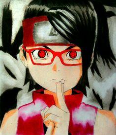 Uchiha Sarada - Anime - Boruto Naruto's Next Generation - Sharingan