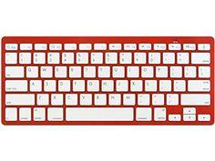 d05259d6b04 ROCKSOUL BK101 Bluetooth Keyboard Red *** Click for Special Deals  #WirelessKeyboard Pc Keyboard
