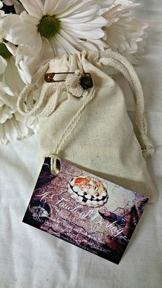A Touch of Destiny, 36 Piece Set With Cotton Muslin Bag - The Barefoot Witchery Shoppe Cotton Muslin, Muslin Bags, Sea Urchin Spines, Best Of Intentions, Altar Cloth, Deer Antlers, Crucifix, Coffin Nails, Quartz Crystal
