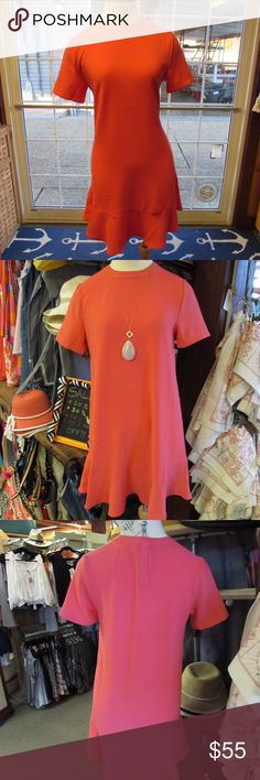 Mud Pie Farrah Flounce Dress This fun, flirty dress is perfect for day or evening.  Material is lightweight and comfortable.  The perfect pop of color for any event. Dress is new with original tags. Mud Pie Dresses