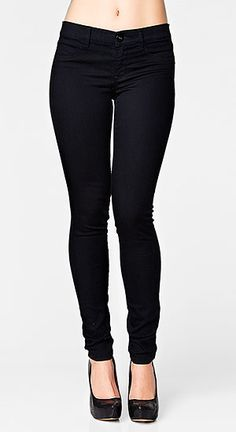 These classic skinny pants are perfect for work or play.