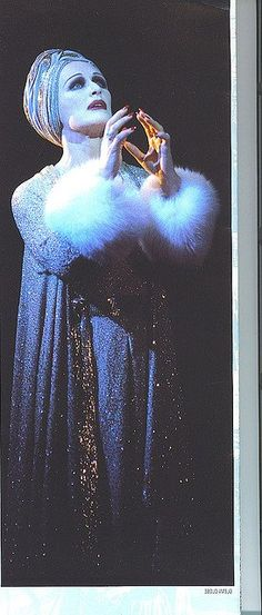 Glenn Close as Norma Desmond in Sunset Boulevard, another one for me.
