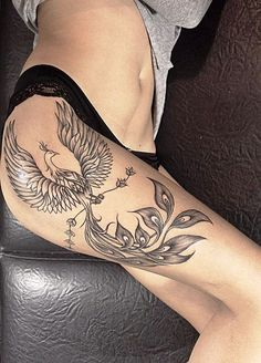 27-Phoenix Tattoo Ideas