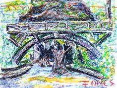 Arte Moderna & Contemporânea: A ponte - Quinta do Castelo em Santa Maria da Feir...