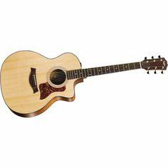 Taylor114ce Sapele/Spruce Grand Auditorium Acoustic-Electric Guitar