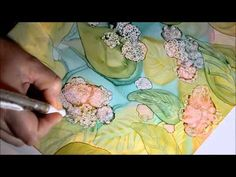 Online Courses coming soon - Painting with Alcohol Ink on Yupo Paper - YouTube