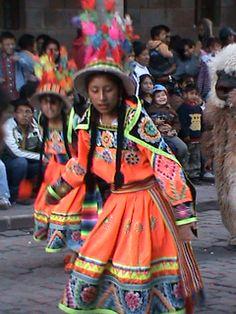 Children's dance festival, Cusco, June 2011