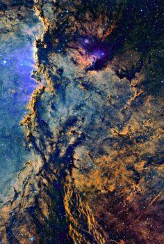 Emission Nebula NGC 6188