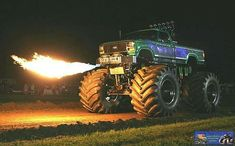 Fire Breathing Monster Truck