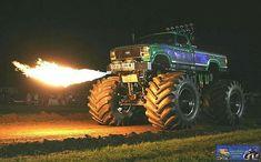 Fire Breathing Monster Truck