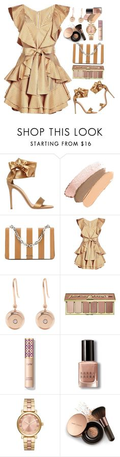 """Zimmerman"" by thestyleartisan ❤ liked on Polyvore featuring Gianvito Rossi, Prada, Zimmermann, Aurélie Bidermann, tarte, Bobbi Brown Cosmetics, MICHAEL Michael Kors and Nude by Nature"