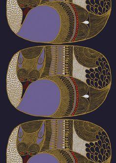 Napakettu fabric | Cotton Fabrics | Marimekko  pin de cláudia silva