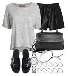 Untitled #3149 by plainly-marie on Polyvore featuring polyvore, fashion, style, rag & bone/JEAN, Zara, Givenchy, Calvin Klein, ASOS and Michael Kors