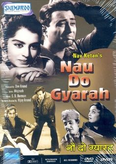 Nau do Gyarah (1957) - Best Bollywood roadtrip movies