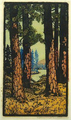 Pines-High-Sierra-by-Frances-Gearhart.jpg 474×800 pixels
