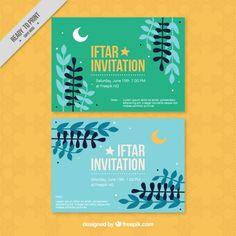 Beautiful golden ramadan iftar invitation free vector httpwww pretty ramadan iftar invitations free vector stopboris Image collections