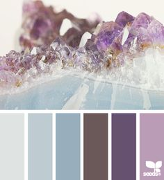 Mineral Hues - http://design-seeds.com/index.php/home/entry/mineral http://patriciaalberca.blogspot.com.es/