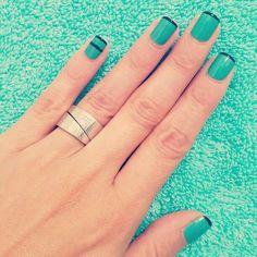 Lindo maquillaje para las uñas