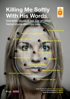 domestic abuse is not just physical - and it's not just women who are victims.