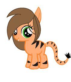 Tiger pony adopt closed by StarDreamPonyArtist.deviantart.com on @deviantART