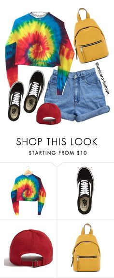 """""""Untitled #3097"""" by unicorn-human on Polyvore featuring Vans, Forever 21, French Connection and ASOS"""