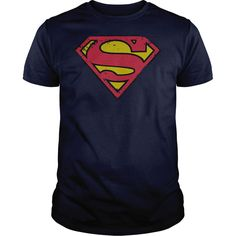 Superman Distressed Shield T-Shirts, Hoodies. SHOPPING NOW ==► https://www.sunfrog.com/Geek-Tech/Superman-Distressed-Shield-.html?id=41382