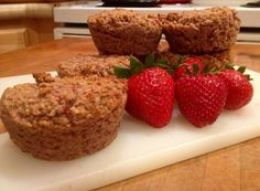 Strawberry Muffins (Paleo, Gluten Free) - Going to make these immediately, they sound delicious!.