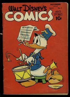 WALT DISNEY'S COMIC AND STORIES #86 CARL BARKS ART DONALD DUCK COVER GOOFY AGNES | eBay