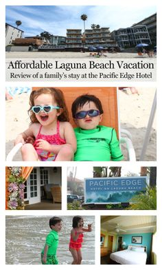 Awesome review of a family's brief stay in Laguna Beach at the affordable @Erin B Ridler Edge Hotel  , located right on the beach with beach access, awesome beach-side restaurant, two heated pools and more. If you are planning a Southern California vacation, check this out.