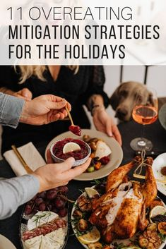 Overeating remedies to help you cope with the holidays from The Wardrobe Stylist. Over eating help to get you through eating too much this Christmas. Eating tips to apply for all the holiday meals you will encounter this season to ensure you don't over indulge above your capacity and over eat. #Holidays #EatingTips #HealthTips #ChristmasMeals