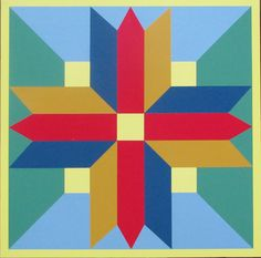 Scroll thru the Barn Quilts. Quilt Square Patterns, Barn Quilt Patterns, Wood Patterns, Square Quilt, Barn Quilt Designs, Quilting Designs, Quilting Ideas, Star Quilts, Quilt Blocks
