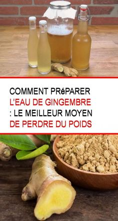 Comment préparer l'eau de gingembre : Le meilleur moyen de perdre du poids Nutrition, I Feel Good, Sweet Potato, Food And Drink, Cocktails, Health Fitness, This Or That Questions, Vegetables, Cooking