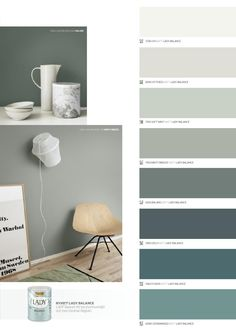 Color Scheme - by LADY Balance Färgkarta / Jotun Sverige Room Colors, Wall Colors, House Colors, Paint Colors For Home, My New Room, Colour Schemes, Colorful Interiors, Interior Inspiration, Bedroom Inspiration
