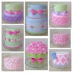 Female cakes Gorgeous Cakes, Amazing Cakes, Cupcake Cakes, Cupcakes, Cupcake Ideas, Pastel Cakes, Baby Girl 1st Birthday, Disney Princess Party, Sugar Paste