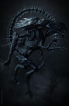 Alien Queen by Santi