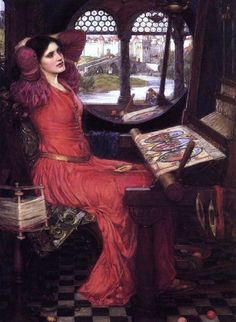 John William Waterhouse, I am Half Sick of Shadows', said the Lady of Shalott, 1915