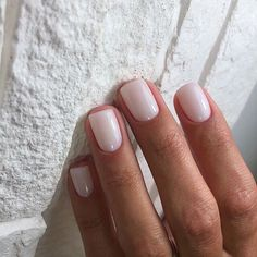 A manicure is a cosmetic elegance therapy for the finger nails and hands. A manicure could deal with just the hands, just the nails, or Neutral Nails, Nude Nails, Acrylic Nails, Blush Nails, Shellac Nails, Nuetral Nail Colors, Acrylic On Natural Nails, Ivory Nails, Shellac Manicure