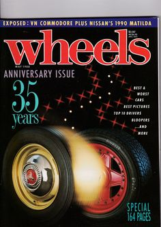1980s Magazines May 1988 Vintage Australian Wheels Magazine Birthday or Christmas Idea for Him by SuesUpcyclednVintage on Etsy