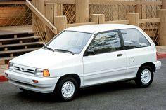 1990-93 Ford Festiva | Consumer Guide Auto Kia Pride, Ford Festiva, Chevrolet Cavalier, Ford Escort, Fuel Injection, Ford Motor Company, Manual Transmission, Fuel Economy, My Ride