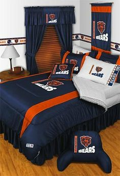Chicago Bears Bedding Gotta Get This Da Pinterest And