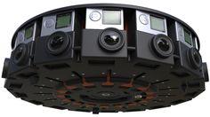 GoPro16台で撮る360度カメラアレイ発表。Google JUMP対応 VR コンテンツ制作向け